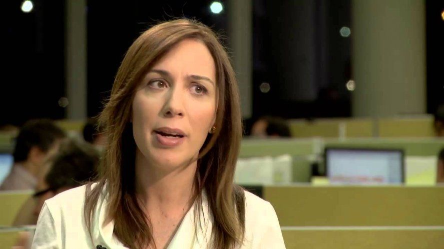 Vidal en TV dijo estar alarmada por la pobreza