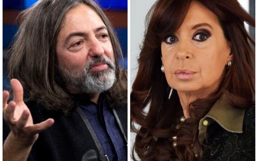 Mirá el increíble parecido entre Dárgelos de Babasónicos y Cristina Kirchner que se volvió viral
