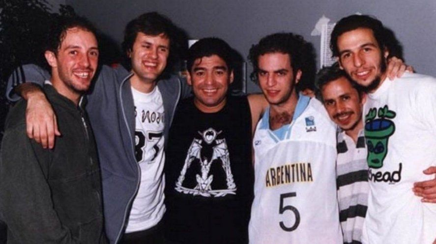 Diego Maradona y Los Piojos