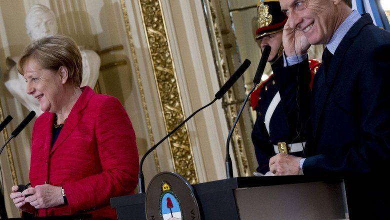 Negociaciones con el FMI: Macri habló con Ángela Merkel y recibió el apoyo de Alemania