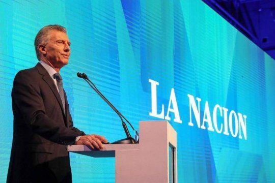 Cada vez La Nación+ cerca de Macri