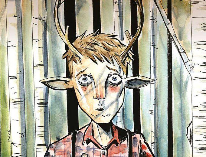El niño ciervo original del cómic, previo a la historia de Netflix