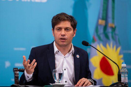 """Kicillof: """"La oposición se ha convertido en una bolsa degatos""""."""