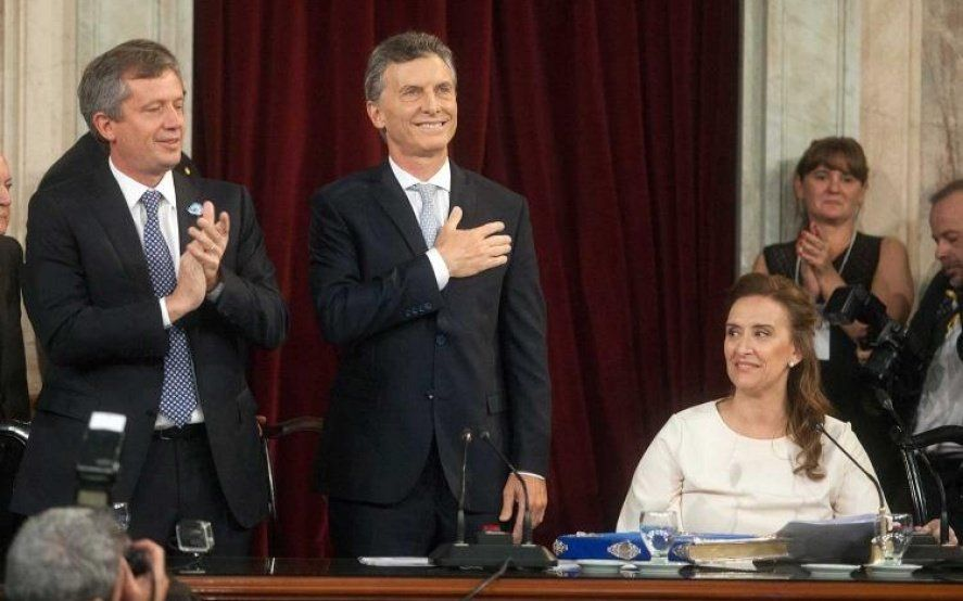 """Macri cuestionó el paro: """"hablo desde mis seis décadas dedicadas al trabajo"""""""