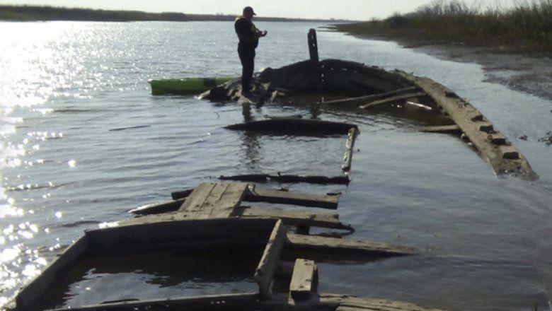 97 años después: descubren un buque mercante que naufragó en el Río Paraná