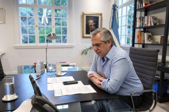 renegociacion de deuda: alberto fernandez recibio el apoyo de su par italiano, giuseppe conte