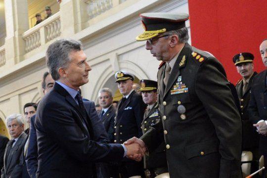 polemica: macri confirmo que quiere que las fuerzas armadas participen en asuntos de seguridad interna