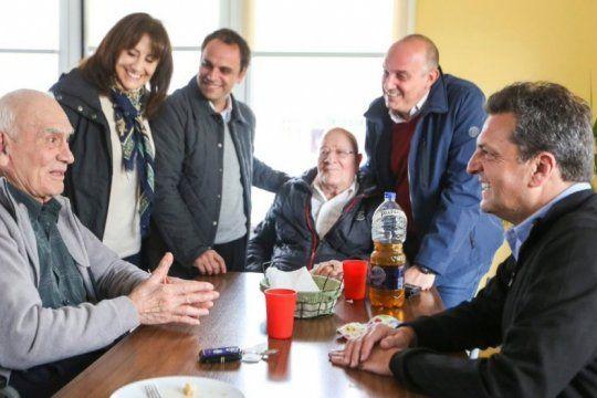 massa desembarco en la cuarta con criticas al gobierno y propuestas para los jubilados