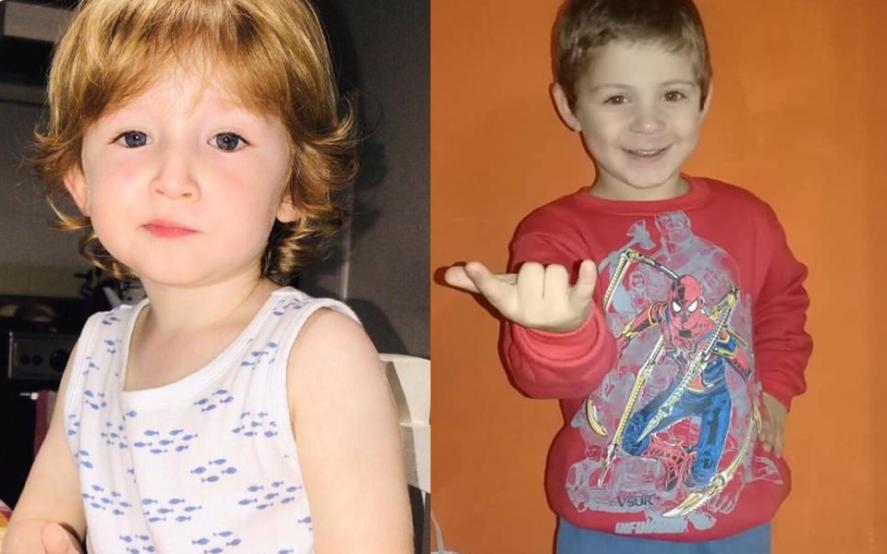 Todos por Pepi y Benicio: lanzan una campaña solidaria para ayudar a dos azuleños de 3 y 4 años