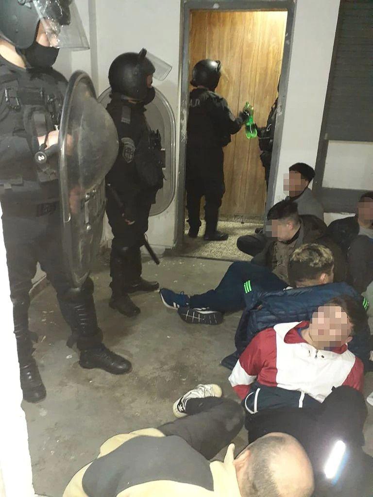 De los 17 detenidos que quisieron escapar cinco fueron trasladados a penales
