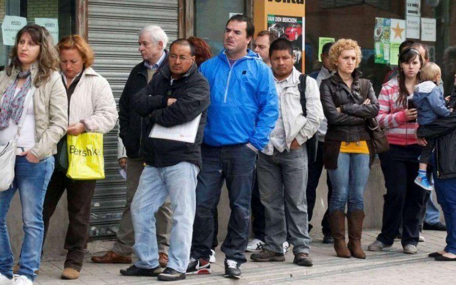 En el lapso de un año se perdieron 46 mil puestos de trabajo registrados en la provincia de Buenos Aires