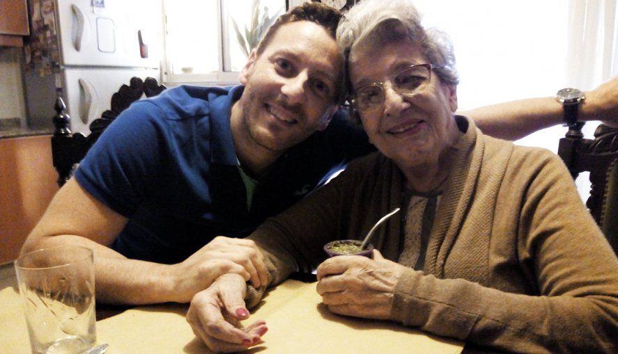 Martín y Delia se conocieron en 2015 y ahora