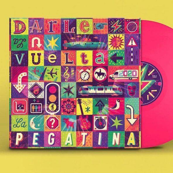 El nuevo disco de La Pegatina cuenta con un colorido diseño de tapa