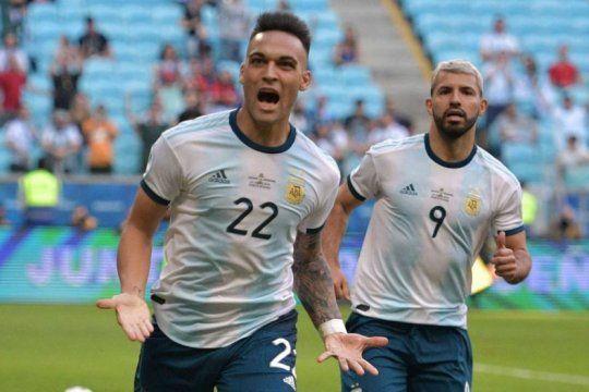 lautaro martinez, el bahiense que termino el 2019 como goleador de la seleccion superando a messi y a agüero