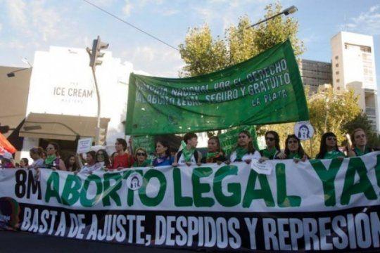 Foto:  Campaña Nacional por el Derecho al Aborto en La Plata
