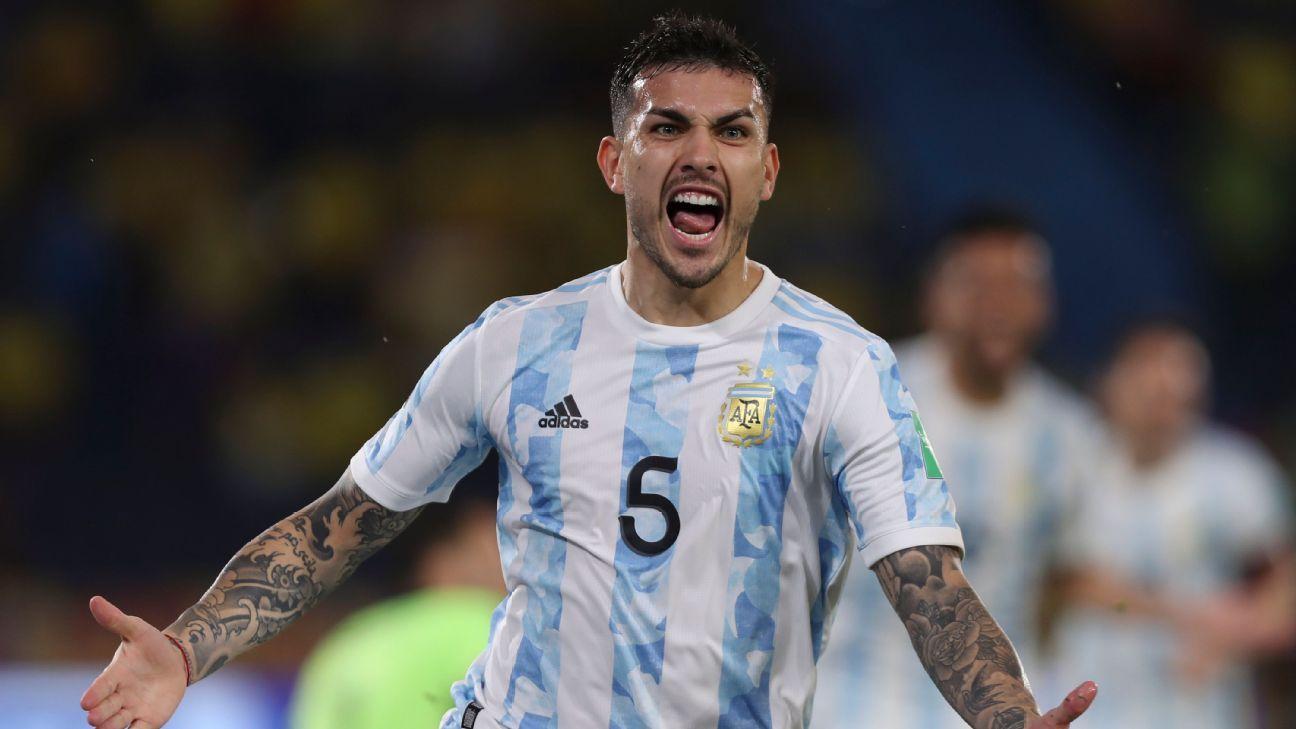 Nivel superlativo: Leandro Paredes se volvió clave para la Selección Argentina.