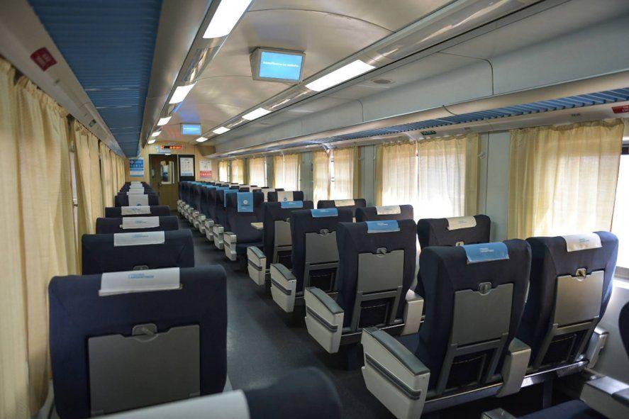 Se encuentran a la venta los pasajes en tren hasta el 31 de Enero