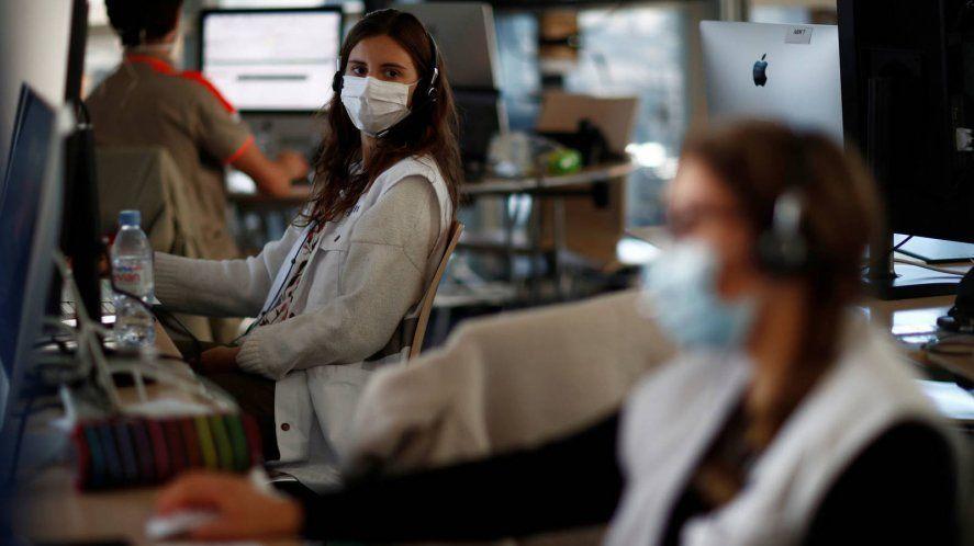 Coronavirus en oficinas