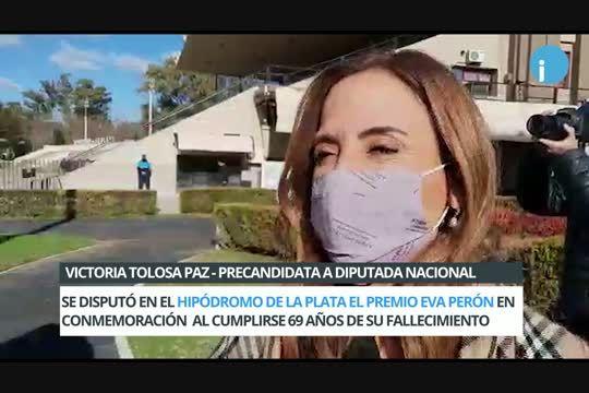 Victoria Tolosa Paz pidió un debate con Diego Santilli y Facundo Manes.