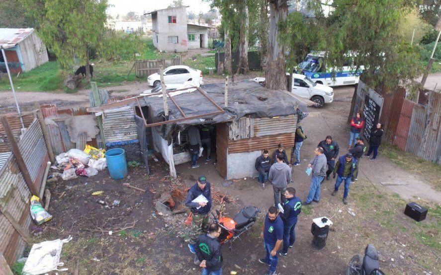Mar del Plata: derribaron el búnker de droga número 125 tras un procedimiento policial