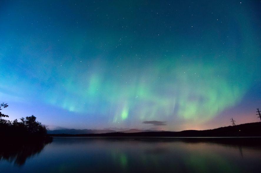 Las tormentas geomagnéticas pueden generar auroras