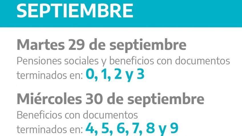 Jubilados y pensionados del IPS percibirán los haberes de septiembre entre los días martes 29 y miércoles 30 del corriente