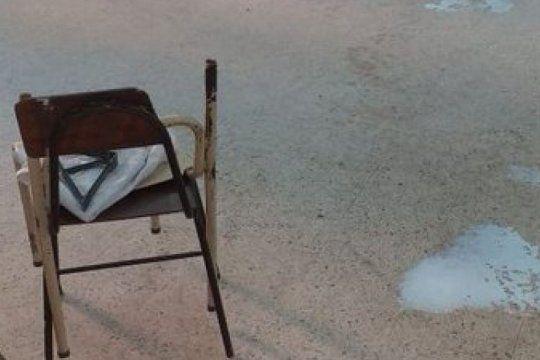 vandalismo en la plata: volvieron de las vacaciones y se encontraron con la escuela destrozada