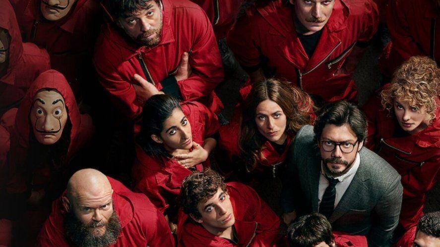 Netflix develó las primeras imágenes de La Casa de Papel 5