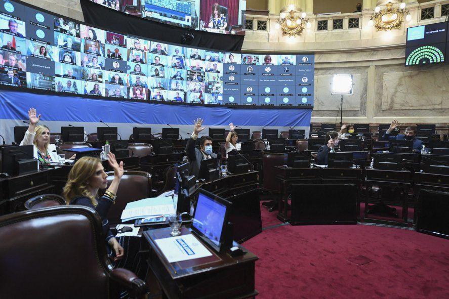 El Senado aprobó la quita de coparticipación para CABA.