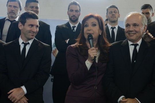 La foto que publicó Cristina Fernández de Kirchner para despedir a Alejandro Sabella.