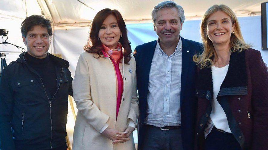 Axel Kicillof compartirá escenario con Cristina y Alberto. La oposición dice que pegará el faltazo.