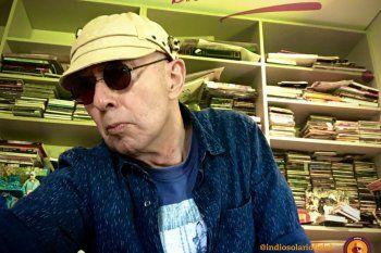 Prueba de vida: Indio Solari y su selfie
