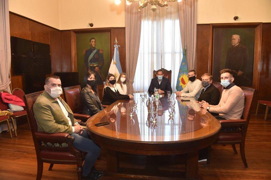 Candidatos de Berisso en La Plata