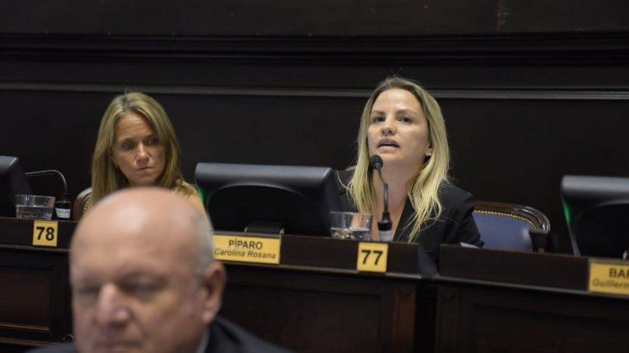 La banca de Carolina Píparo en la Legislatura bonaerense vence a fin de año.