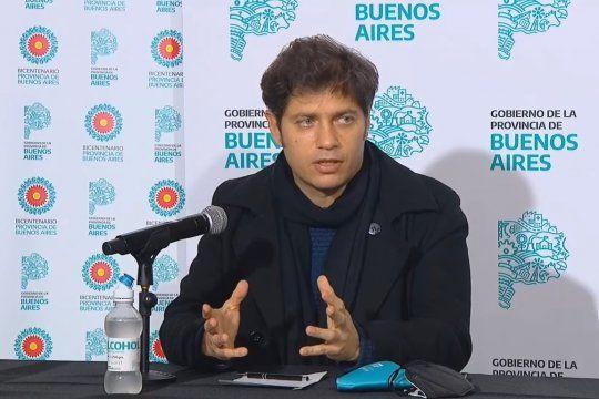 Kicillof presenta el plan Aulas del bicentenario