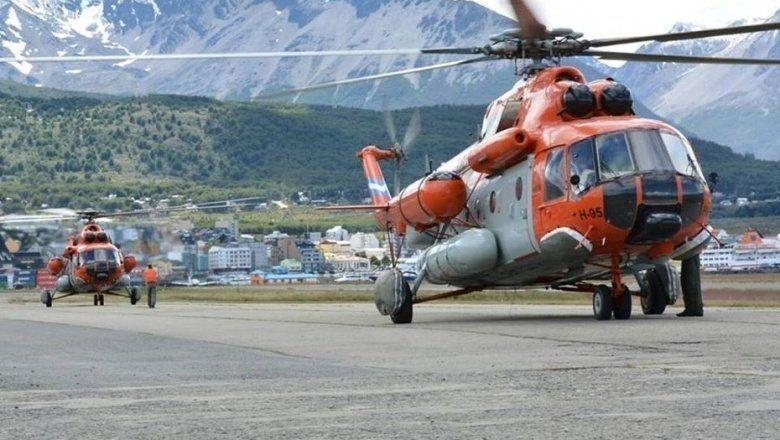 Rescataron a la comitiva presidencial tras aterrizaje de emergencia del helicóptero que la trasladaba