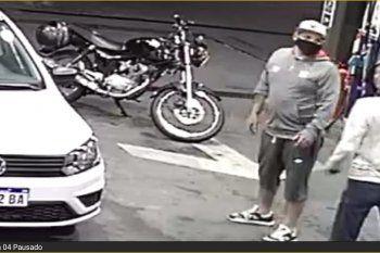 El robo del motochorro fue el 16 de octubre en 19 y 72