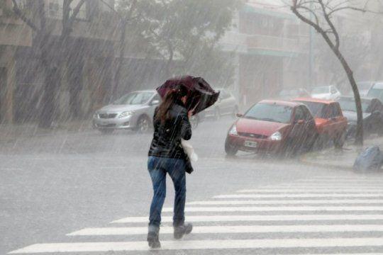 hay alerta meteorologica por tormentas en la provincia