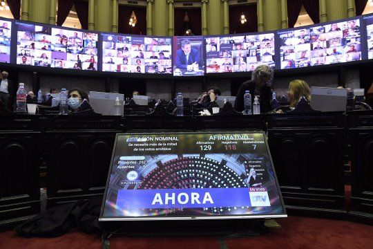 El resultado de la votación: 35 diputados bonaerenses no aprobaron la transferencia de fondos a la Provincia