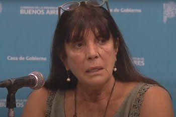 La ministra García lanzó críticas a Vidal