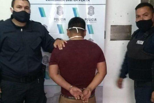 Violencia de género: desfiguró a su pareja a golpes y quedó detenido