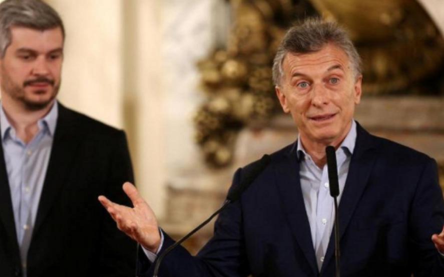 """Para Marcos Peña """"no hay duda"""" de que Macri """"va a ganar la reelección"""""""
