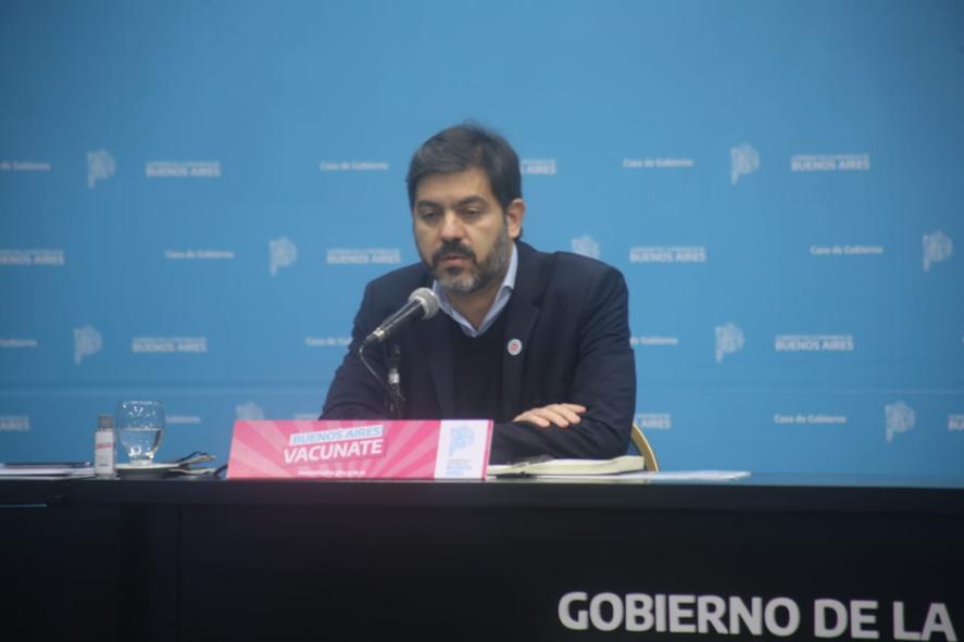 Carlos Bianco apuntó contra Javier IGuacel y Julio COnte Grand