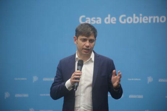 El gobernador de la provincia de Buenos Aires, Axel Kicillof, molesto con el periodismo amigo de Macri.