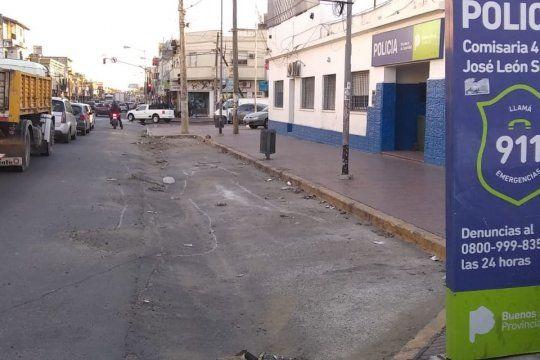 En el hecho tomó intervención la Policía de José León Suárez