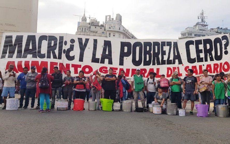 Sexto paro de la CGT contra Macri: el moyanismo hará ollas populares y la izquierda cortará accesos