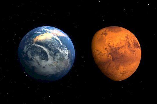 Este 6 de octubre, Marte estará muy cerca de la Tierra