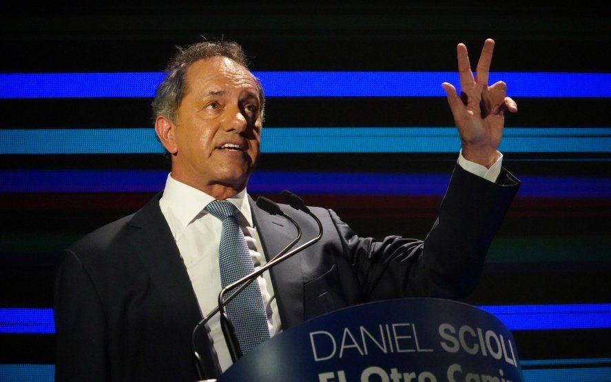 "Scioli confirmó que volverá a ser candidato a Presidente: ""Elijo seguir luchando"""