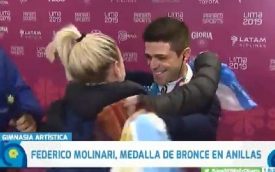 Medalla de oro al romanticismo: un deportista argentino propuso matrimonio en los Panamericanos