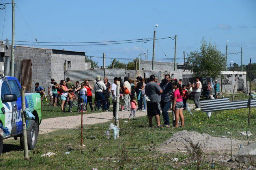 Olavarría: un grupo de familias tomó terrenos municipales